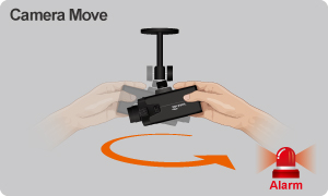 Air Live CamPro Professional - Camera Move